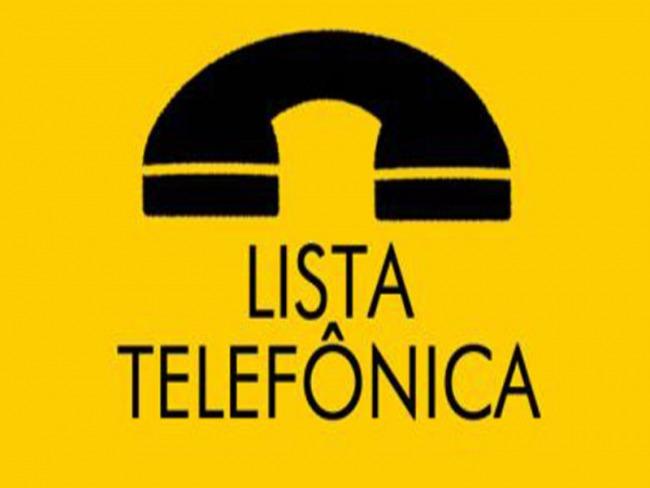 Lista telefônica SVP