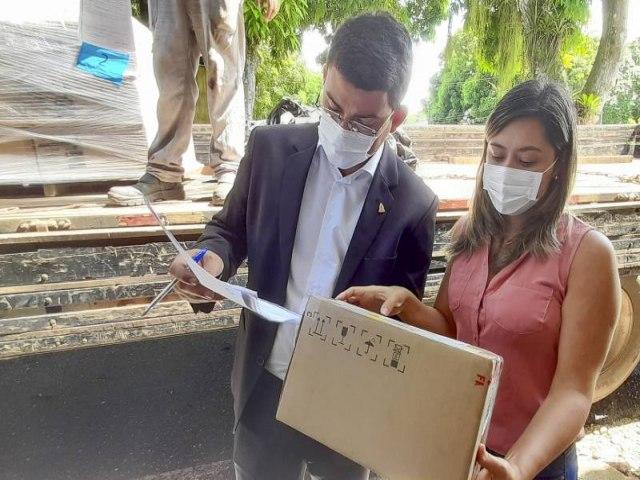 Estado recebe doação de 50 bombas de infusão para tratamento de pacientes de Covid-19